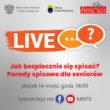 """Live MRiPS, GUS i """"Głosu Seniora"""" – Jak bezpiecznie się spisać? Porady spisowe dla seniorów"""